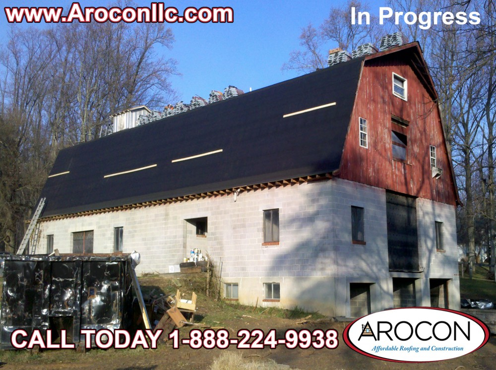 Photo By Arocon Roofing And Construction. Before And After