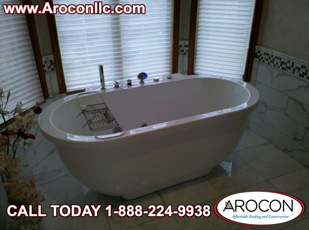 Photo By Arocon Roofing And Construction. Bathroom Remodel