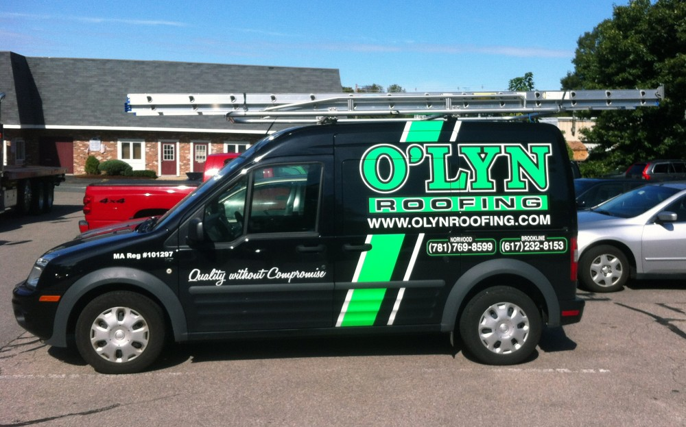 Photo By O'LYN Roofing. O'LYN Staff & Equipment