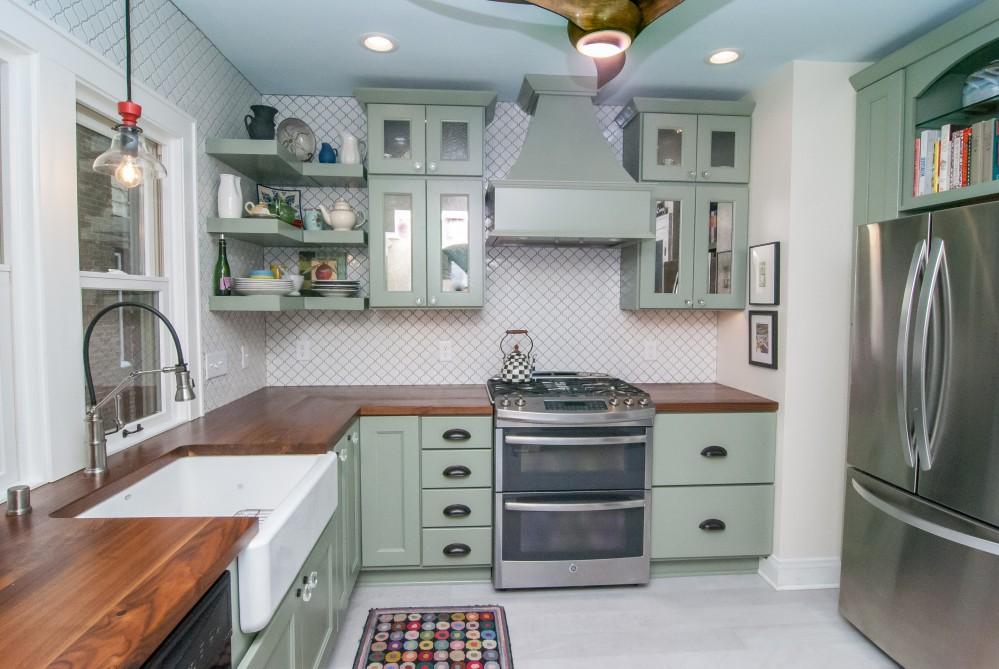 Photo By Gabor Design Build. Shorewood Eclectic Kitchen