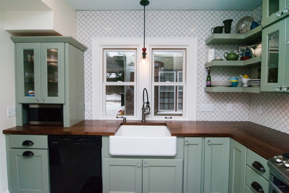 Photo By Gabor Design Build. Shorewood Eclectic Kitchen