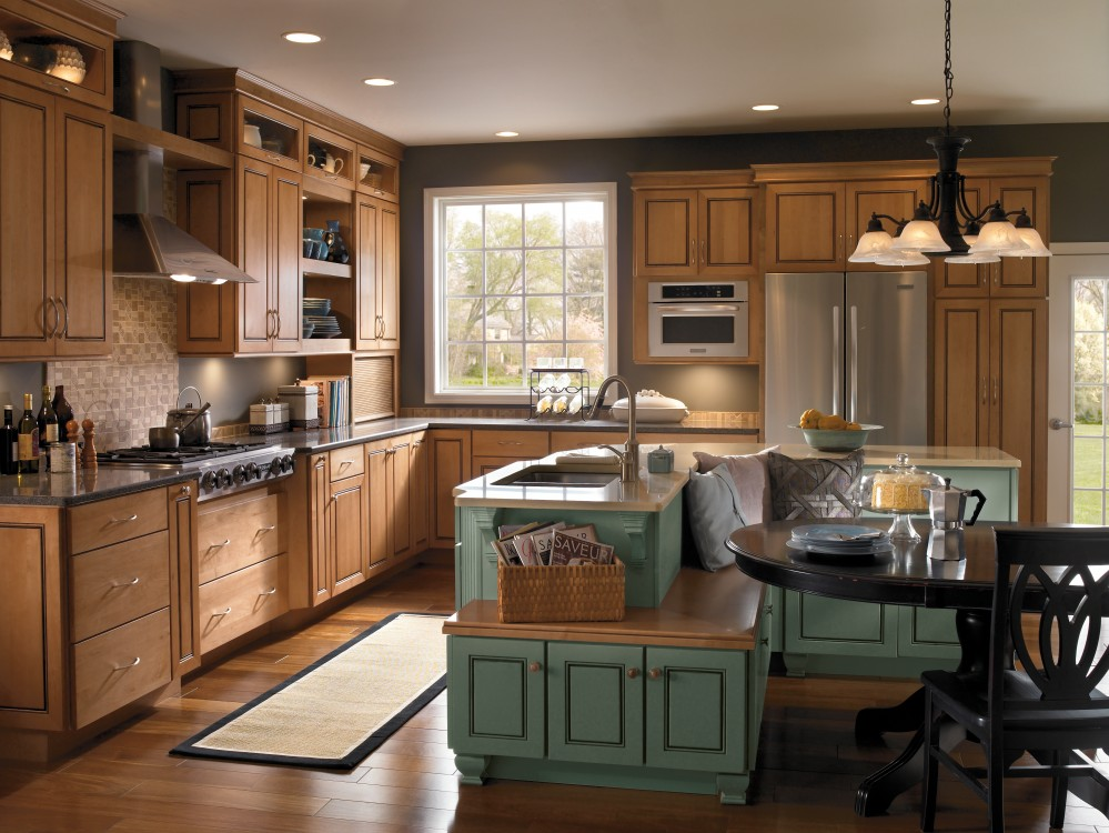 Photo By Crown Construction Inc.. Kitchen