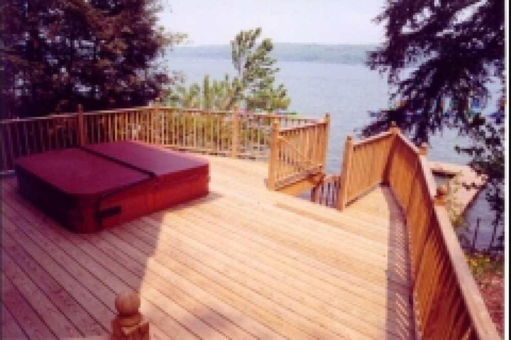 Photo By Crown Construction Inc.. Decks And Porches