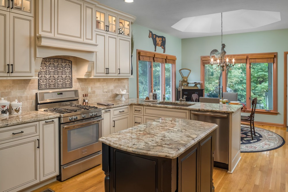 Photo By The Cleary Company. Kitchen & Master Bathroom