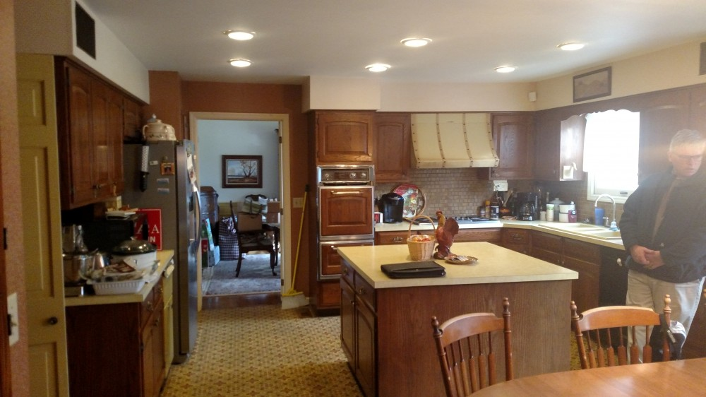 Photo By The Cleary Company. Kitchen & Family Room Remodel