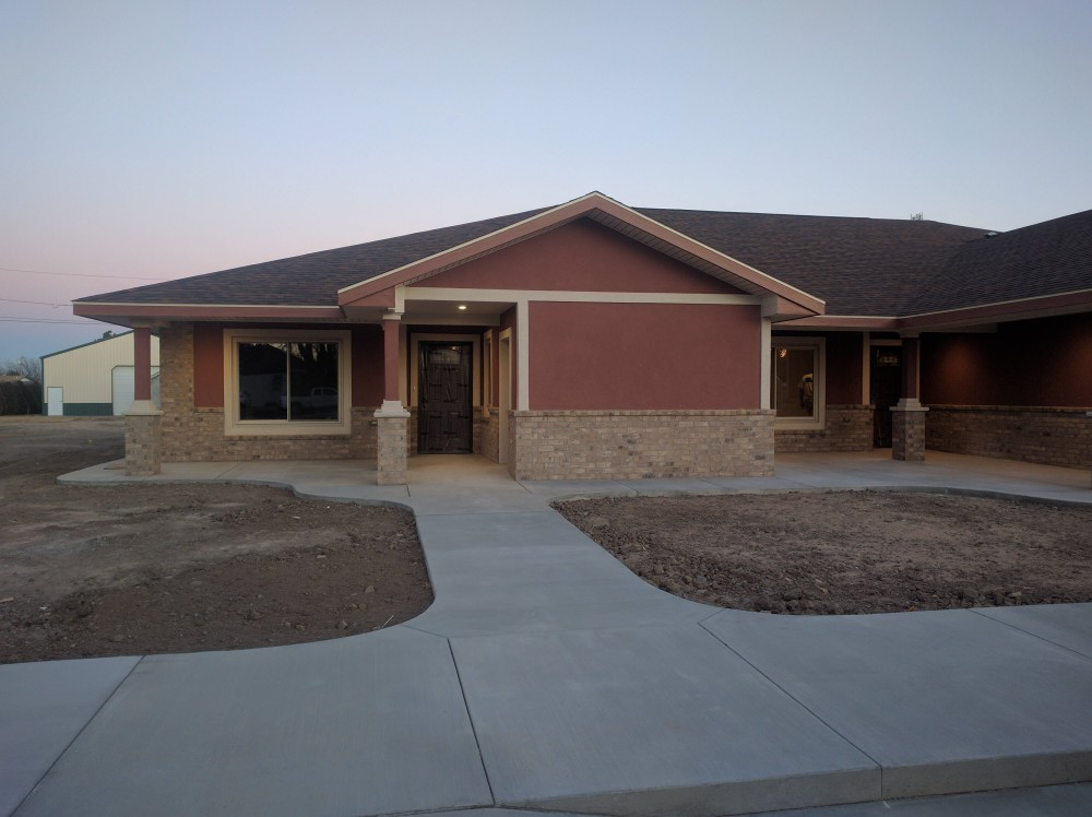 Photo By Wolters Construction. Triplex