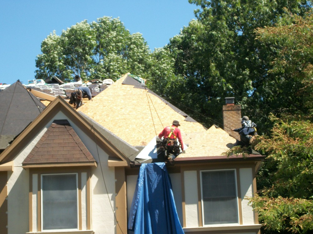 Photo By Gutterman Services Inc.. Residental Roof Installations