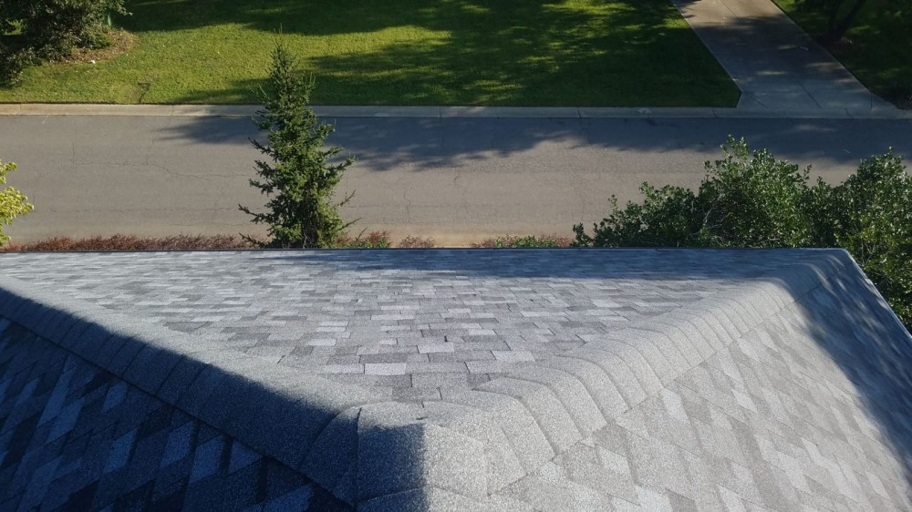 Photo By Signature Exteriors (NC). Roof Replacement - Owens Corning TruDef Duration - Colonial Slate