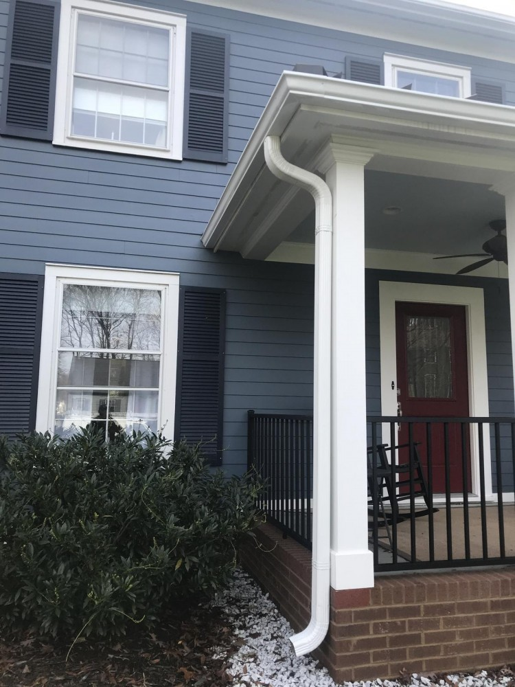 Photo By Signature Exteriors (NC). Gutter And Downspout Installation