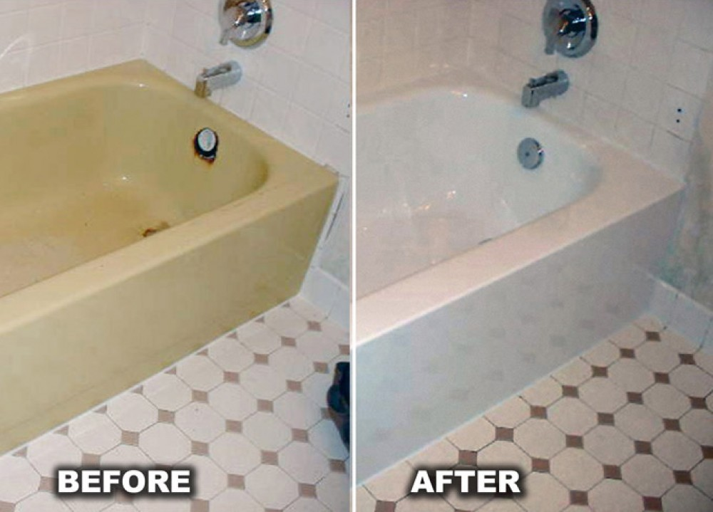 Photo By BathWraps. Before And After