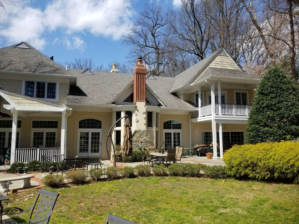 Photo By BRAX Roofing. New Owens Corning Duration Roof Replacement In Bethesda MD