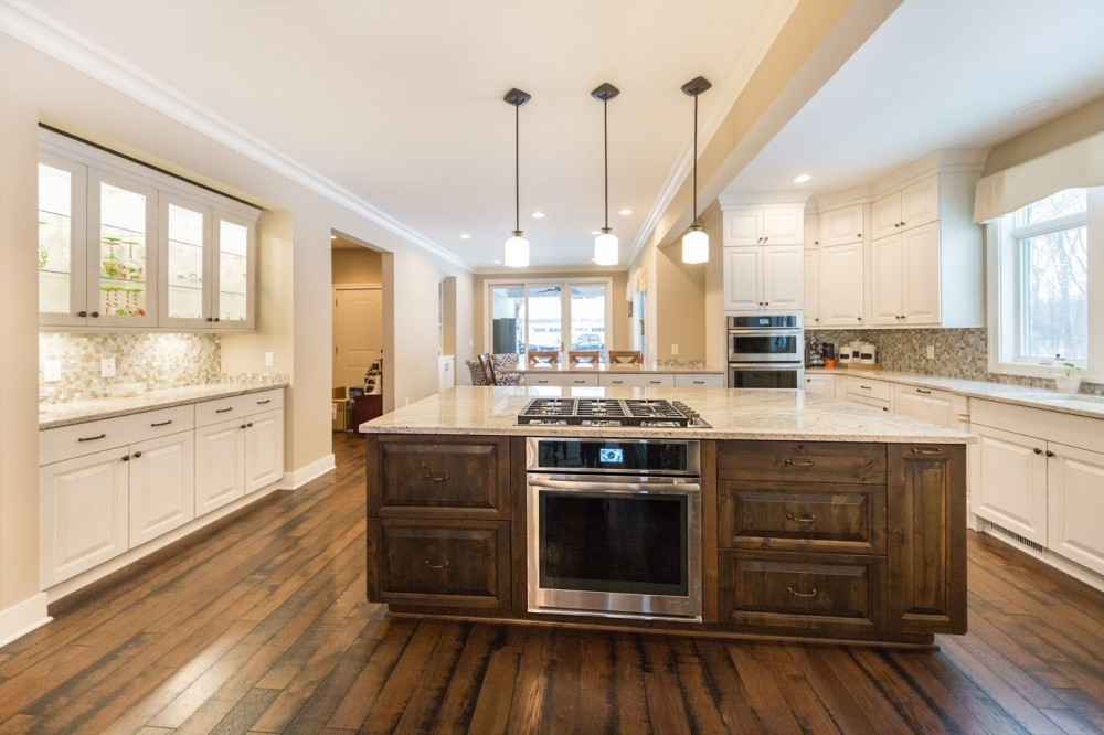 Photo By DreamMaker Of Greater Grand Rapids. Bright And Updated Kitchen