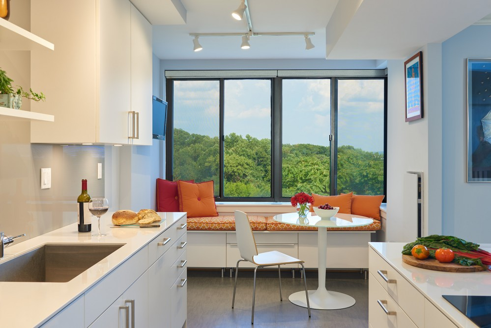 Photo By CARNEMARK Design + Build. WIDER APPEAL - Northwest DC Kitchen Remodel