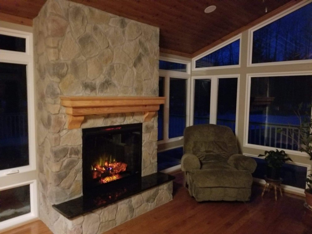 Photo By Energy Plus Home Improvements. New Deck And Sunroom