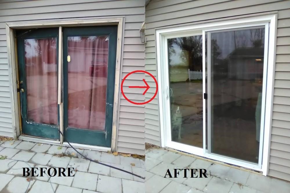 Photo By Energy Plus Home Improvements. Patio Door