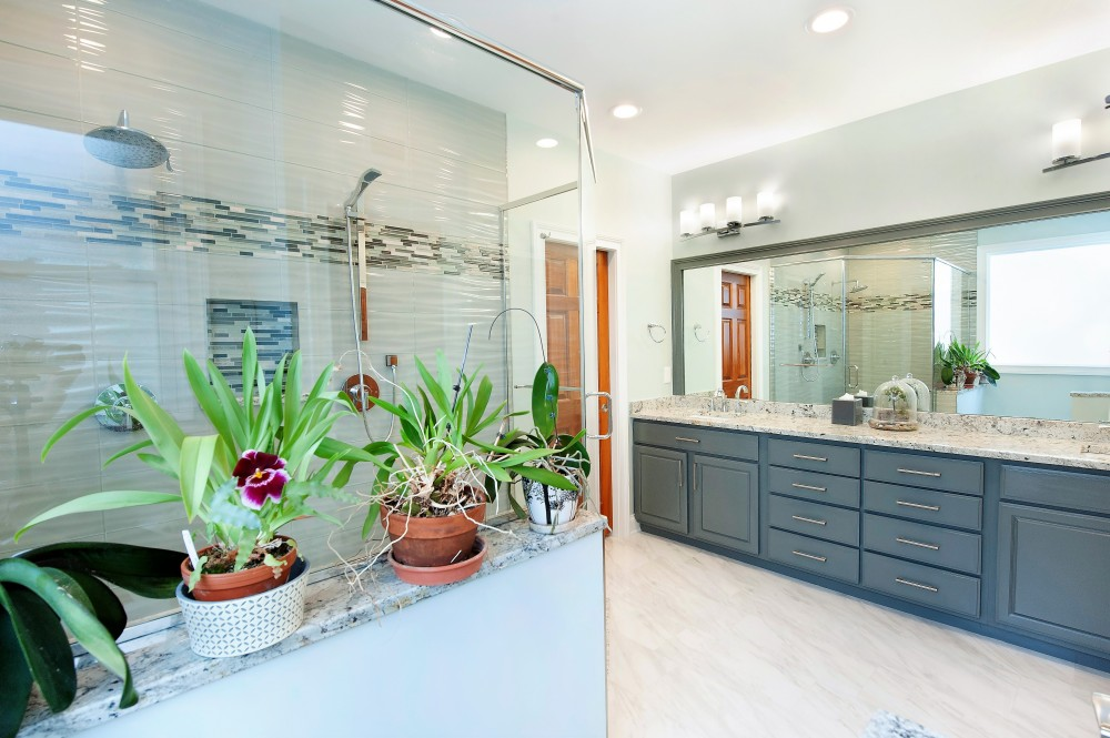 Photo By Pat Scales Remodeling. Dublin Master Bath