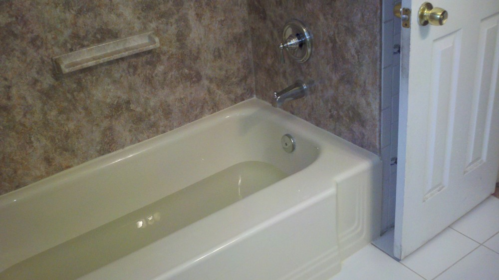 Photo By Bath Planet Long Island. Custom Acrylic Bath Systems