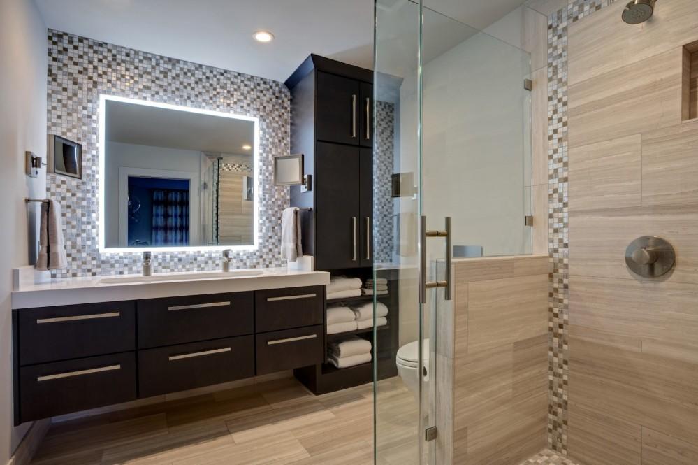Photo By JS Design + Build. Yountville Vineyard Condo
