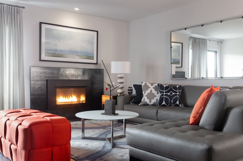 Photo By JS Design + Build. Yountville Vineyard Vacation Rental