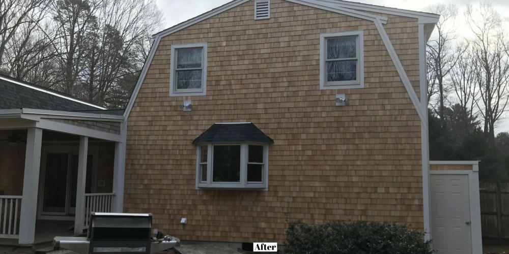 Photo By Beantown Home Improvements. New Cedar Clapboard And Shingle Siding In Norwell