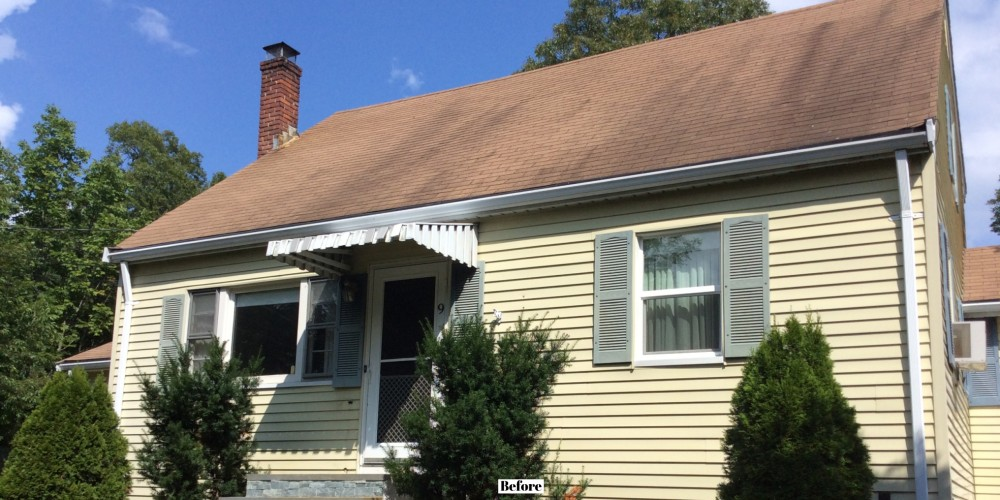 Photo By Beantown Home Improvements. New Roof And Vinyl Siding