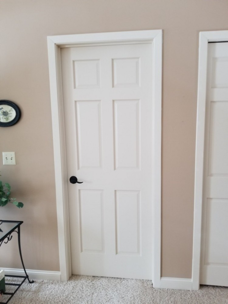 Photo By Russell Room Remodelers. Trim & Doors