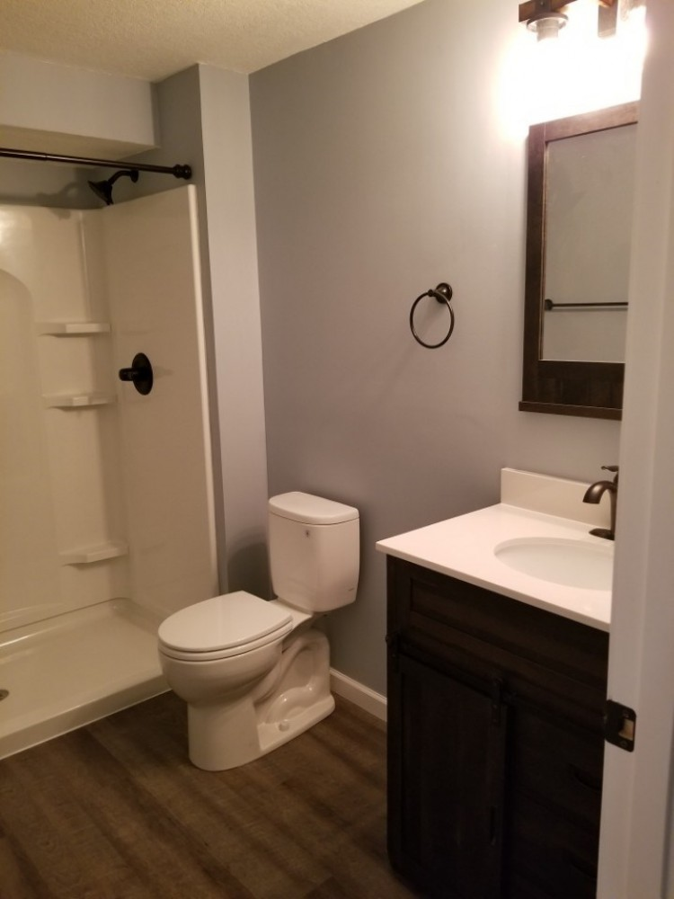 Photo By Russell Room Remodelers. Basement Bathroom