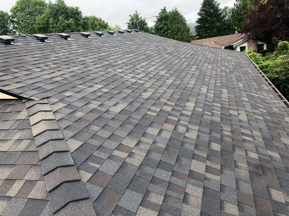 Photo By Klam Construction. Owens Corning - 2019 Color Of The Year - Black Sable