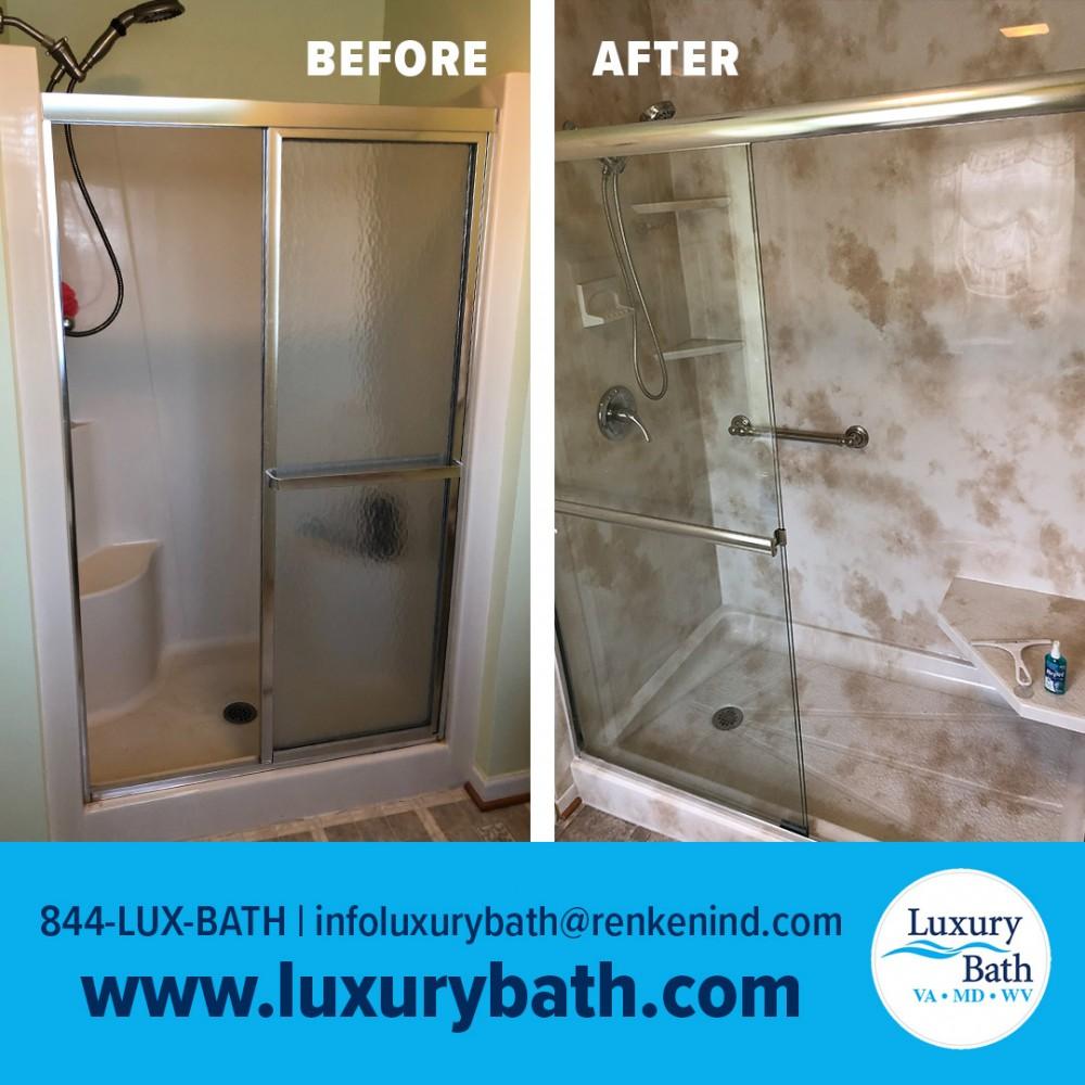 Photo By Luxury Bath Technologies By Renken Remodeling. Shower Renovation