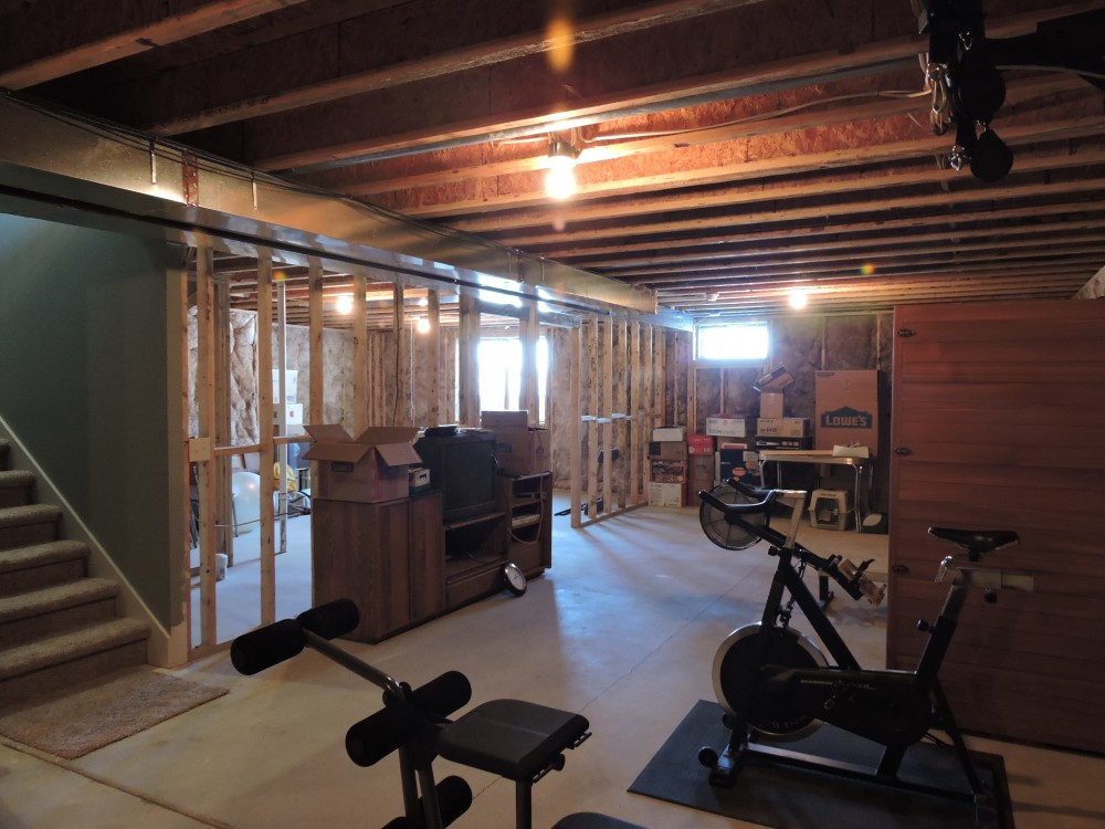 Photo By Willet Construction, Inc.. Basement Finish