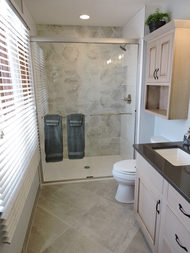 Photo By Willet Construction, Inc.. Hall & Master Bath