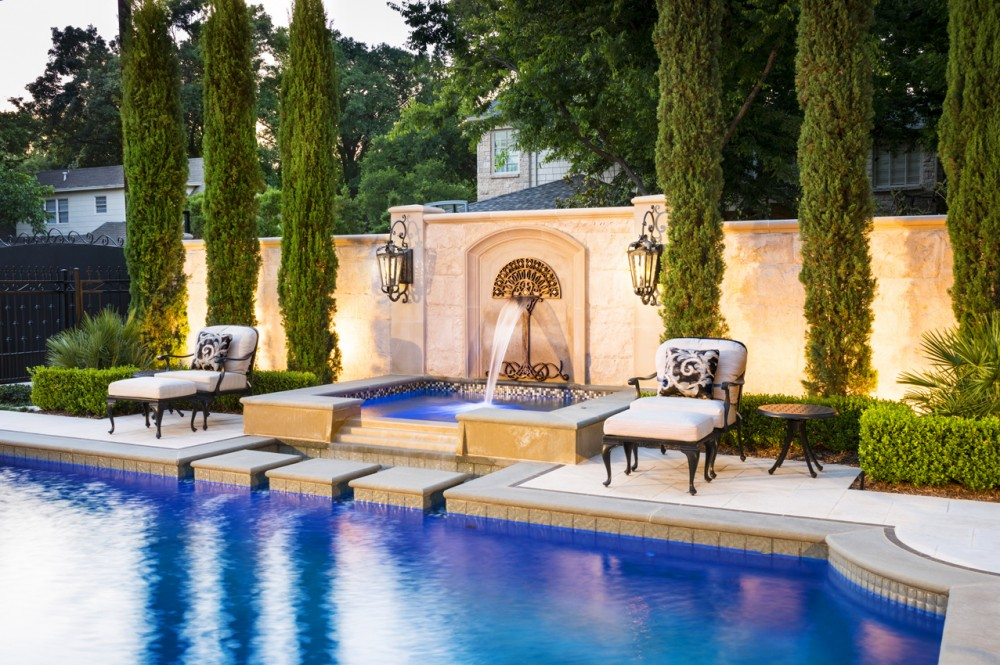 Photo By Pool Environments. Elegant Pool & Spa
