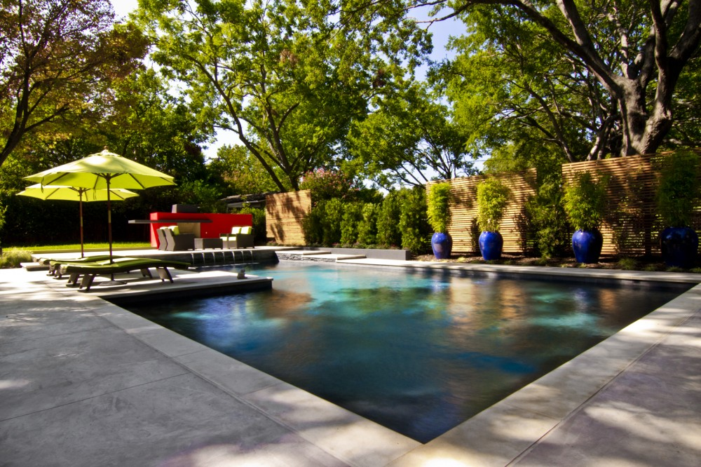 Photo By Pool Environments. Contemporary Pool Renovation