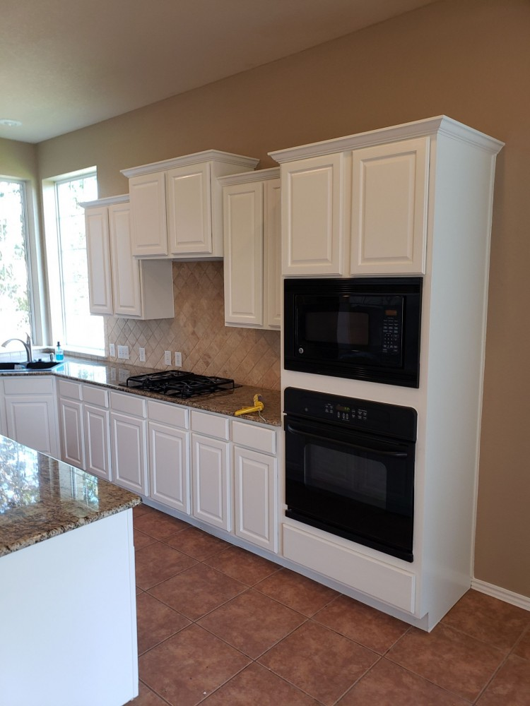 Photo By Fresh Coat Painters Of NW San Antonio. Kitchen Cabinet Painting
