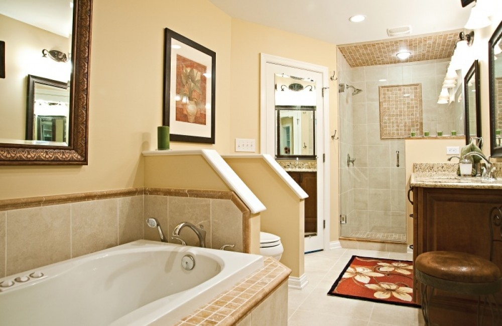 Photo By Bailey Remodeling & Construction, LLC. Project - Bergmeister Master Bathroom