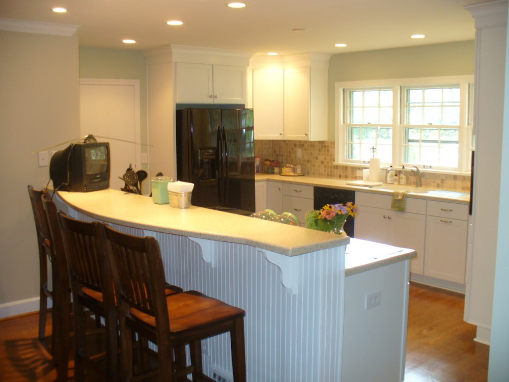 Photo By Bailey Remodeling & Construction, LLC. Project - Hook III Kitchen