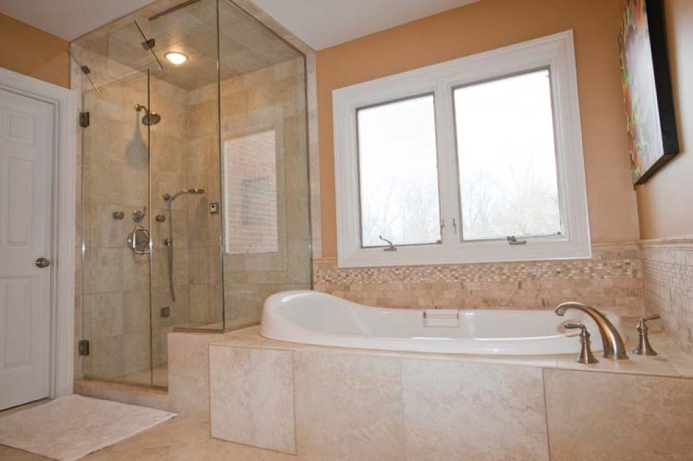 Photo By Bailey Remodeling & Construction, LLC. Project - Smith Master Bathroom