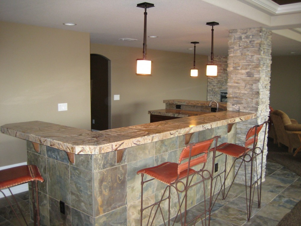 Photo By Aspen Basement Company. Aspen Basement Company - Wet Bar Photos