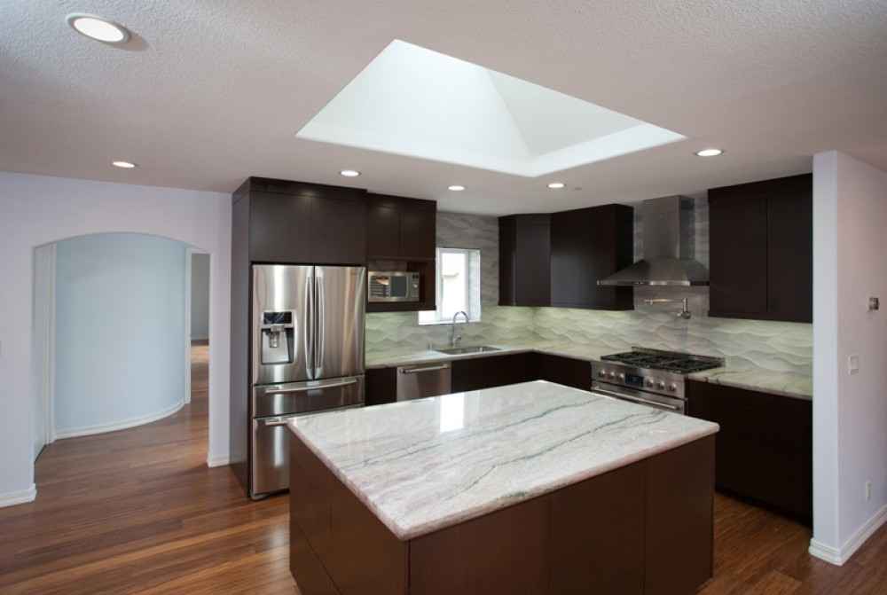 Photo By Valley Home Builders. Kitchens
