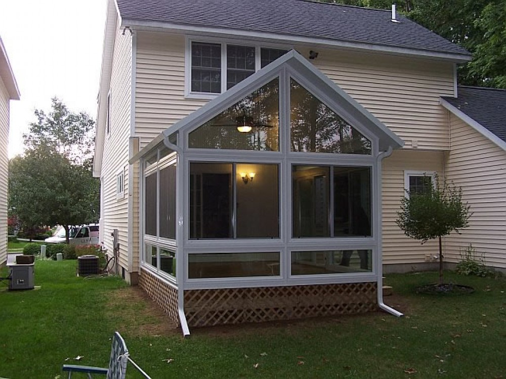 Photo By CKH Industries. CKH Sunroom Projects