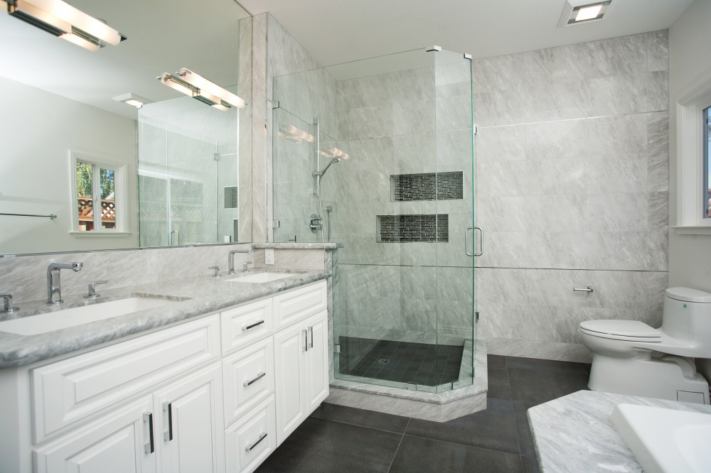 Photo By Valley Home Builders. Bathrooms