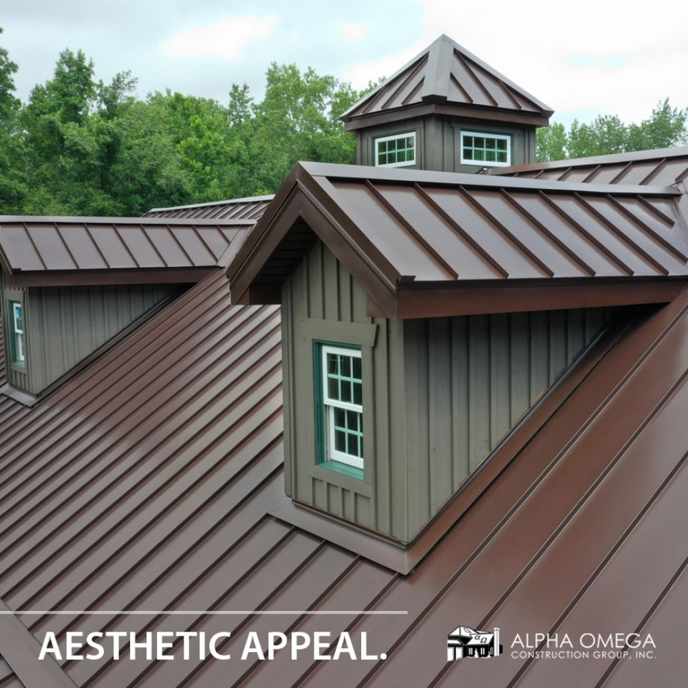 Photo By Alpha Omega Construction Group - Savannah. Metal Roofing