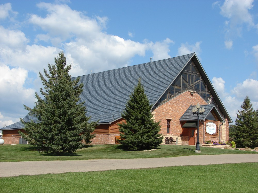 Photo By ABC Seamless - Fargo. Steel Roofing (Church)