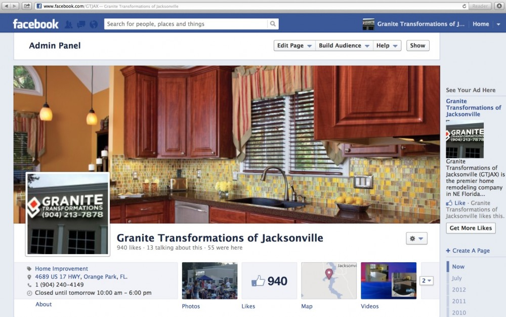 Photo By Granite Transformations Of Jacksonville. GTJAX Pics