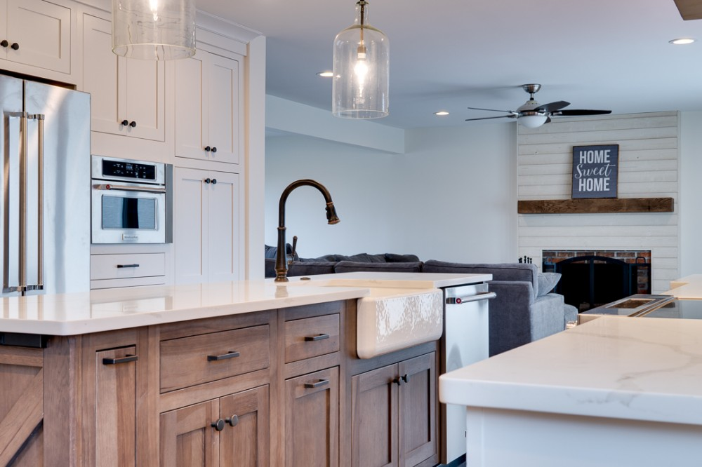 Photo By Ryann Reed Design Build. Whole House Remodel | Holland, PA