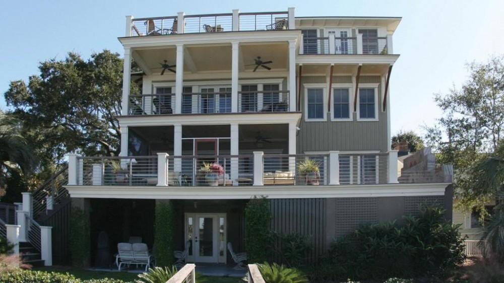 Photo By Sea Island Builders. Custom Homes