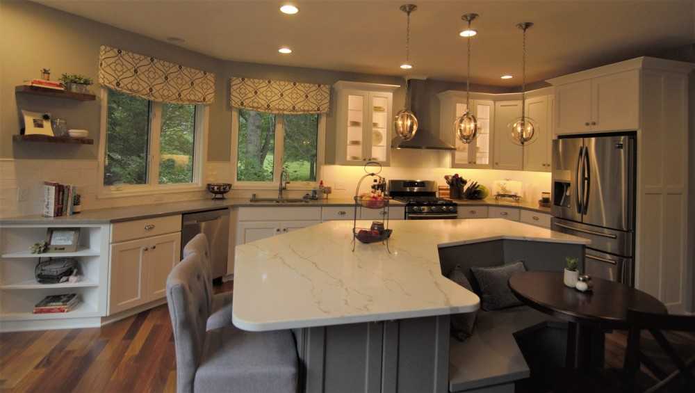 Photo By Russell Room Remodelers. Kitchen Island