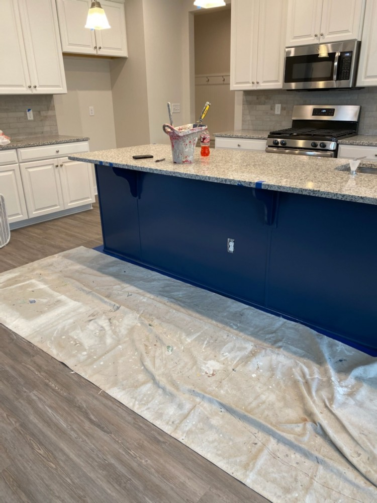 Photo By Fresh Coat Painters Of Dublin. Kitchen Island