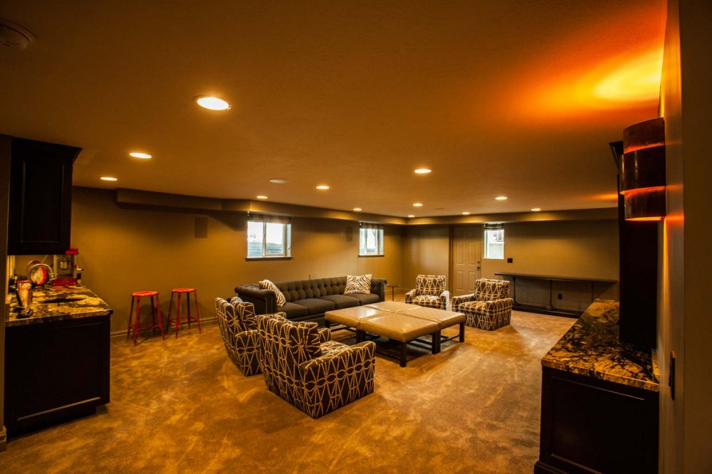 Photo By Fine Remodel. Basement