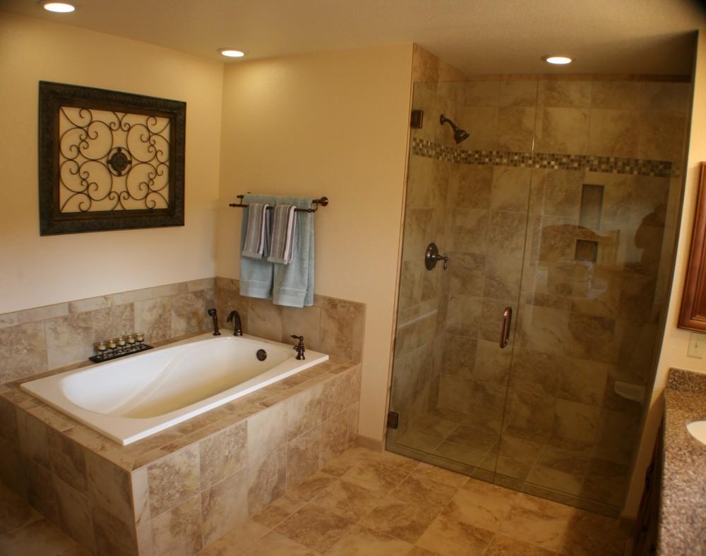 Photo By DreamMaker Of Colorado Springs. Bath